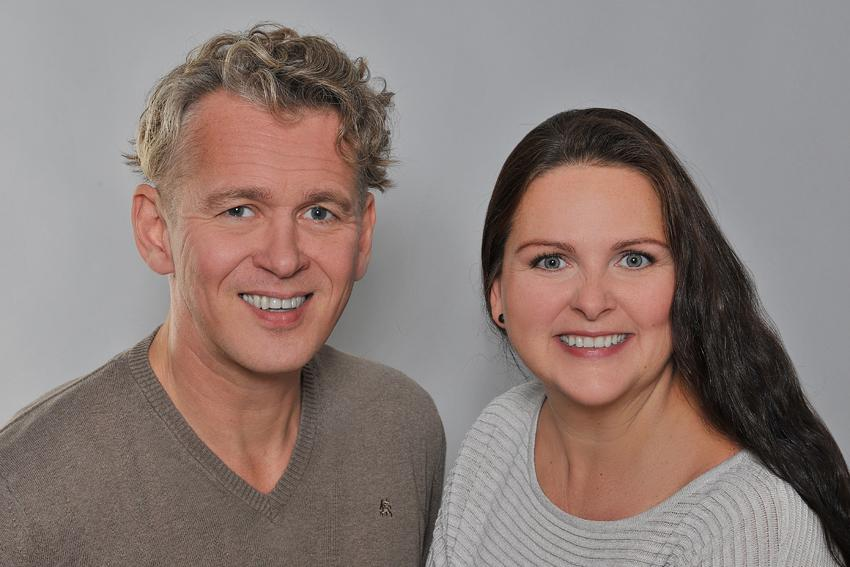 Marc Zumbach und Karolina Goralski